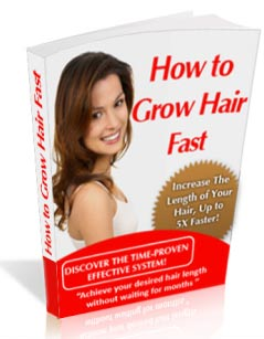 Grow Hair Fast -find out how today